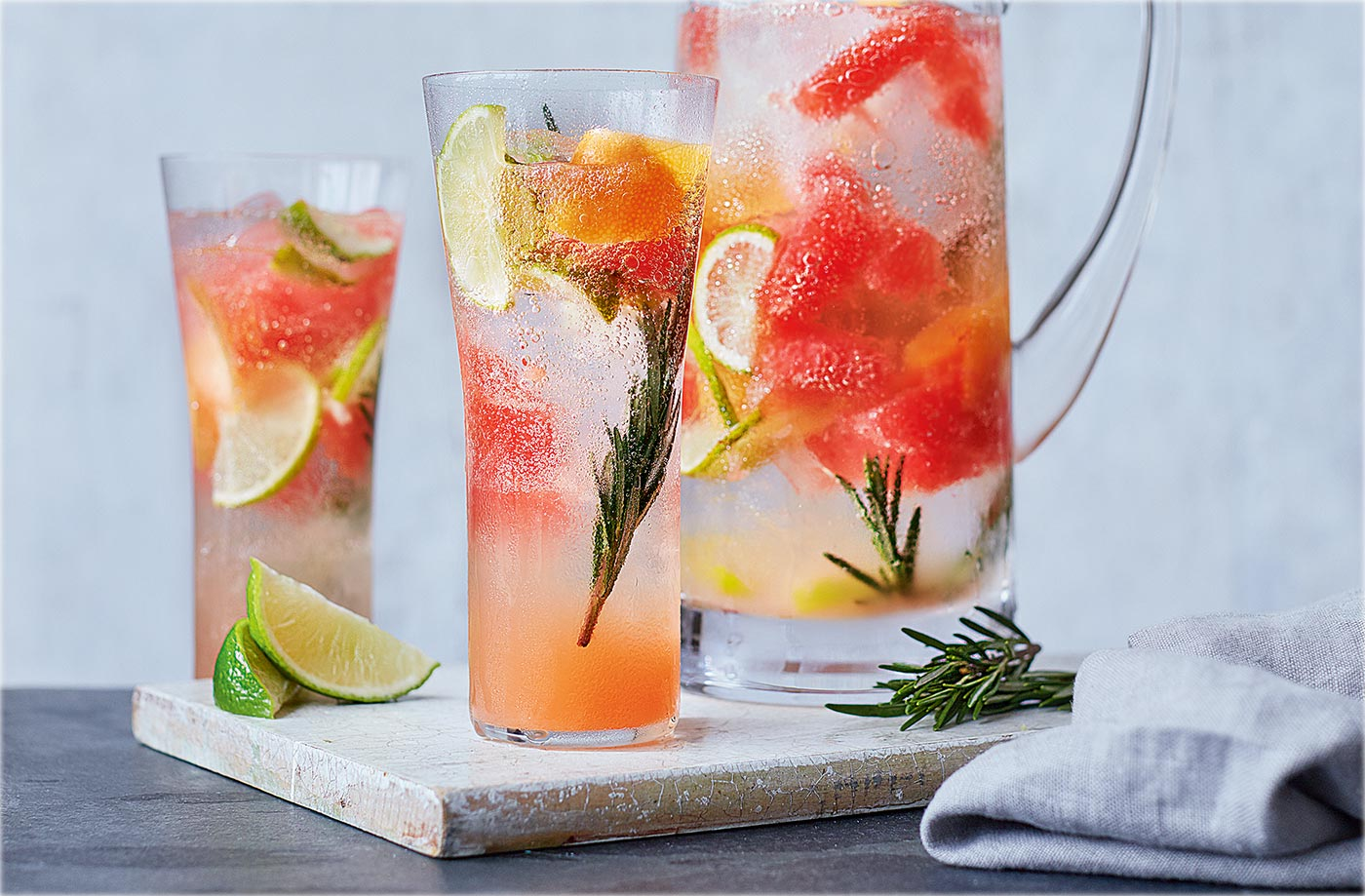 healthy and cold drink for hot days of summer