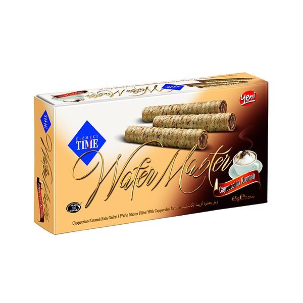"Wafer sticks in a box ""TIME"" cappuccino"