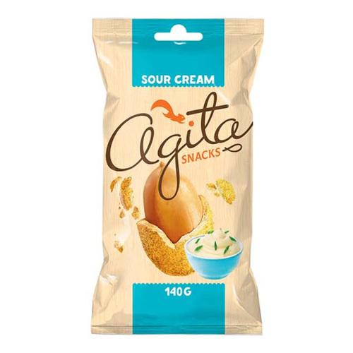 """ხრაშუნა არაქისი """"Agita"""" არაჟნით 140გრ."""