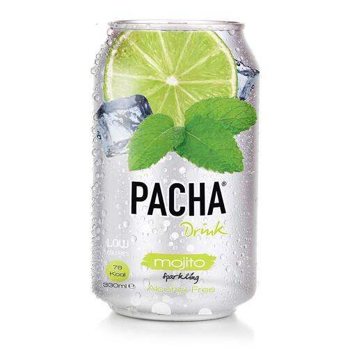 """carbonated drink """"PACHA"""" Mojito"""