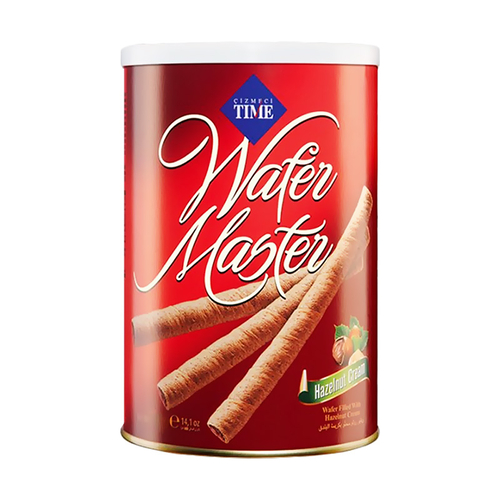 """wafer sticks """"TIME"""" with nuts"""