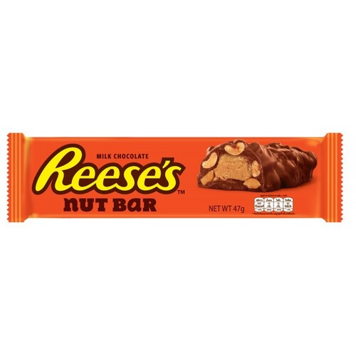 "chocolate and nut bar ""Reese's"" with peanut butter 47 g."