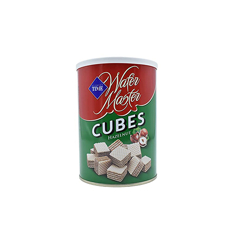 """wafer cubes """"TIME"""" with nuts"""