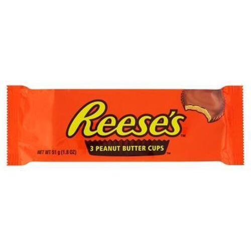 "peanut butter cups ""Reese's"" 51 g."
