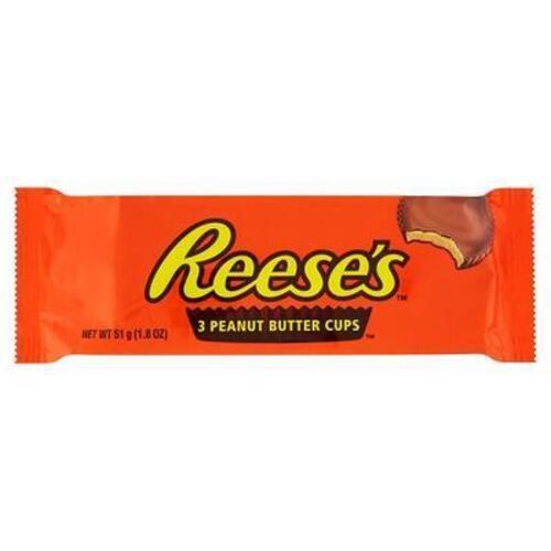 """შოკოლადი მიწის თხილის კარაქით """"Reese's"""" 51 გრ."""