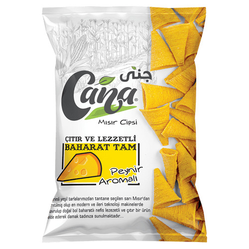 სიმინდის ჩიფსი CANA ყველის არომატით 200 გრ