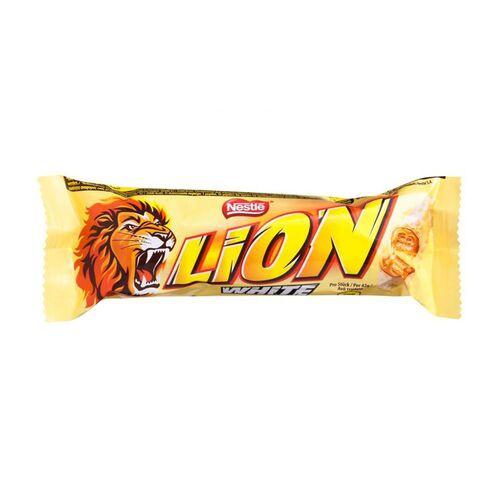 """თეთრი შოკოლადის ბატონი """"Nestle"""" LION 42გრ."""