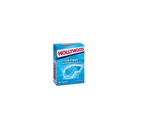 """Chewing gum """"HOLLYWOOD"""" ICE FRESH 14g. without sugar"""