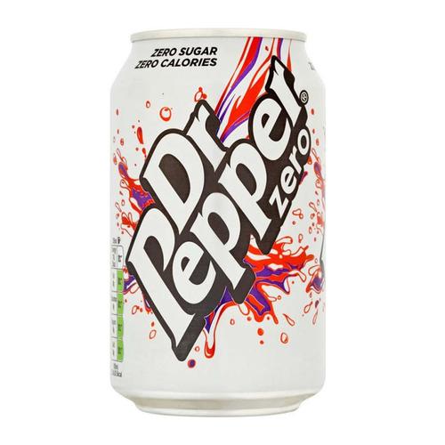 Dr Pepper Zero 330 მლ.
