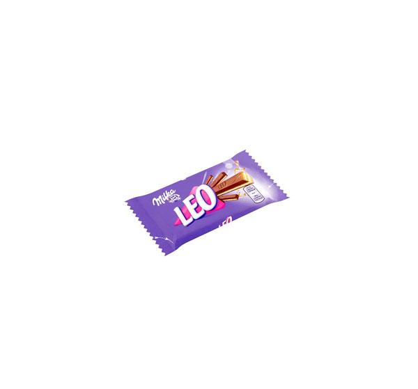 """ვაფლი შოკოლადის """"MILKA"""" LEO 33,3გრ."""