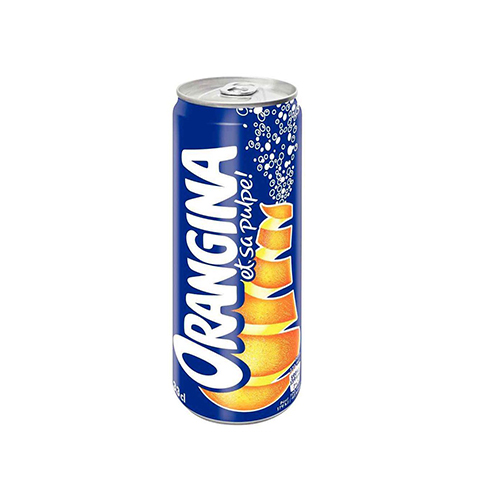"""Drink """"ORANGINA"""" in can"""