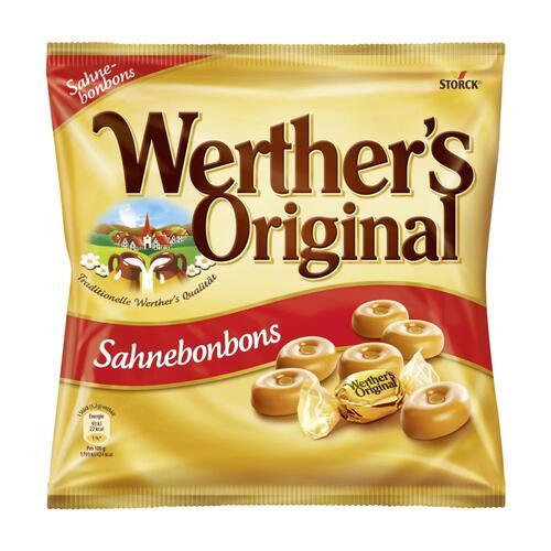 """კამფეტი რძიანი """"Werther's Original"""" 120 გრ."""