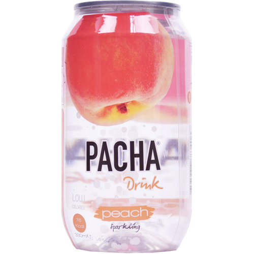 """carbonated drink """"PACHA"""" Peach"""